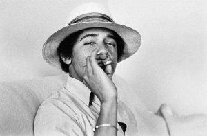 President of the United State, Barack Obama, smoking pot. Celebrities smoking weed.
