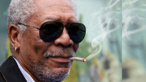 Morgan Freeman smoking weed. Celebrities smoking Marijuana.