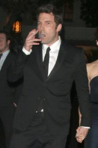 Ben Affleck smoking weed. Celebrities smoking Marijuana.