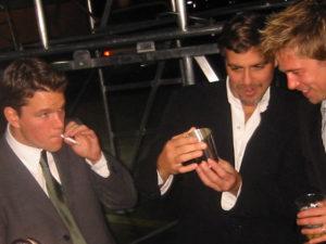 Matt Damon smoking weed. Celebrities smoking Marijuana.